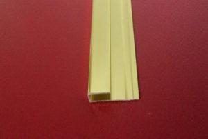 nẹp bo cạnh mb5.0 màu vàng bóng