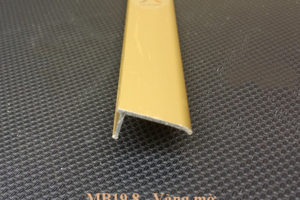 nẹp kết thúc mb19.8 màu vàng mờ