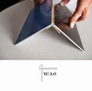 mặt cắt nẹp bo góc yc3.0