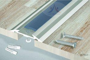 Mô tả ứng dụng nẹp mặt bằng NCP8.0 cho sàn gỗ