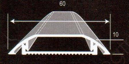 Thông số mặt cắt nẹp luồn dây diện MKP10