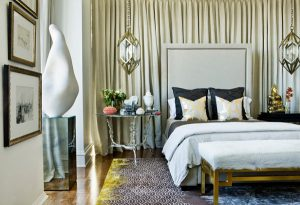 Trang trí nhà lộng lẫy nhờ sự kết hợp của sắc vàng và bạc ánh kim 1