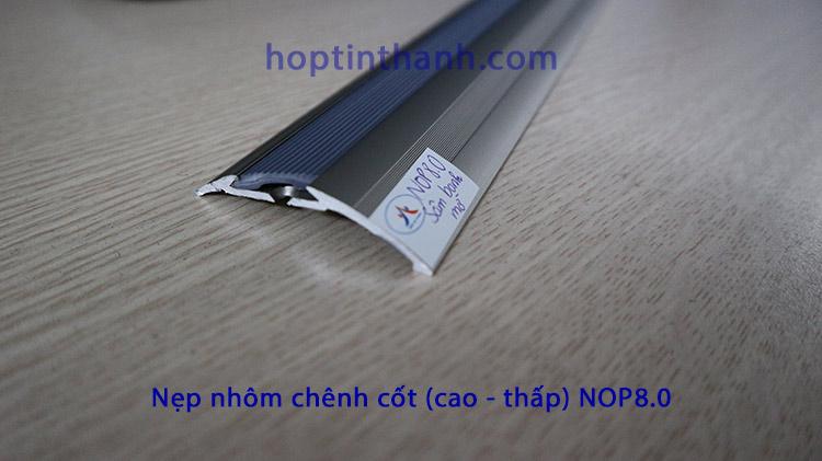 Nẹp chênh cốt hợp kim nhôm NOP8.0