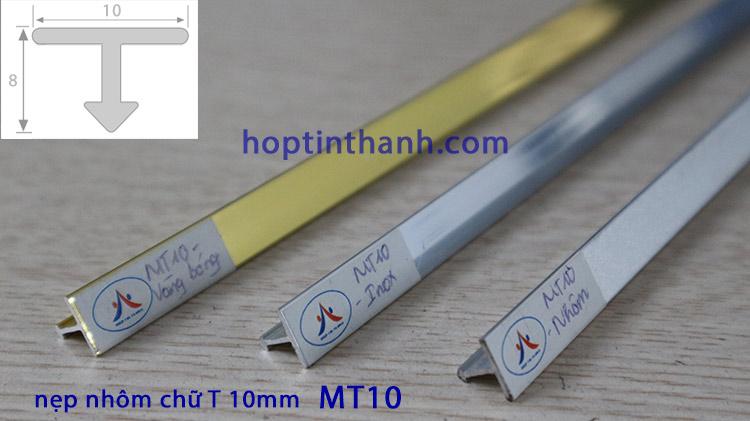 Nẹp nhôm chữ T 10mm MT10 Hợp Tín Thành