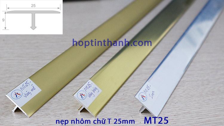 Nẹp nhôm chữ T 25mm MT25 Hợp Tín Thành
