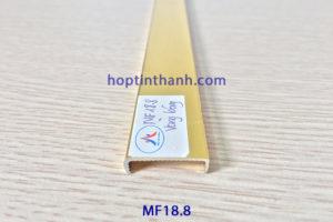 Nẹp nhôm chữ U bo viền MF18.8 Hợp Tín Thành