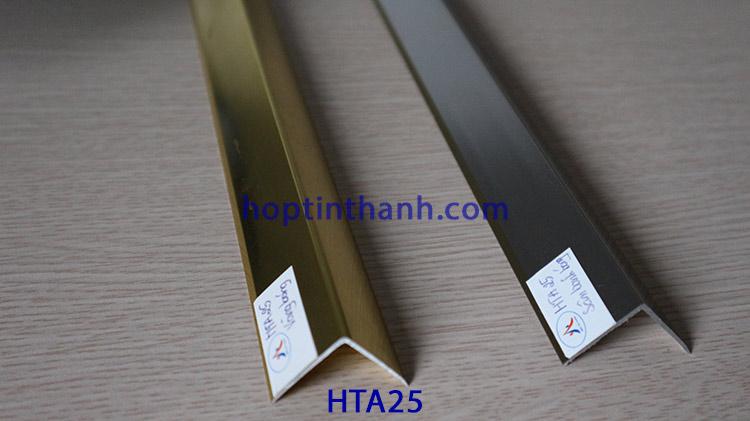Nẹp nhôm trang trí chữ V HTA25 Hợp Tín Thành