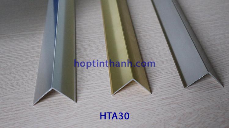 Nẹp nhôm trang trí chữ V HTA30 Hợp Tín Thành