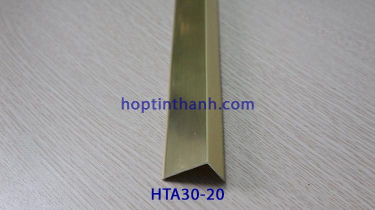 Nẹp nhôm chữ V lệch HTA30x20 Hợp Tín Thành